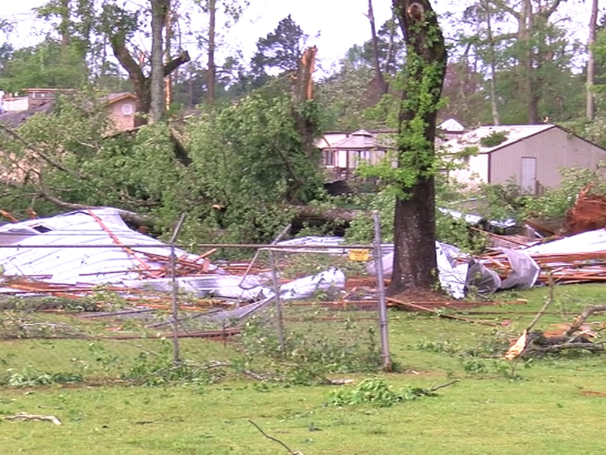NWS preliminary report shows EF-2 tornado hit San Augustine area