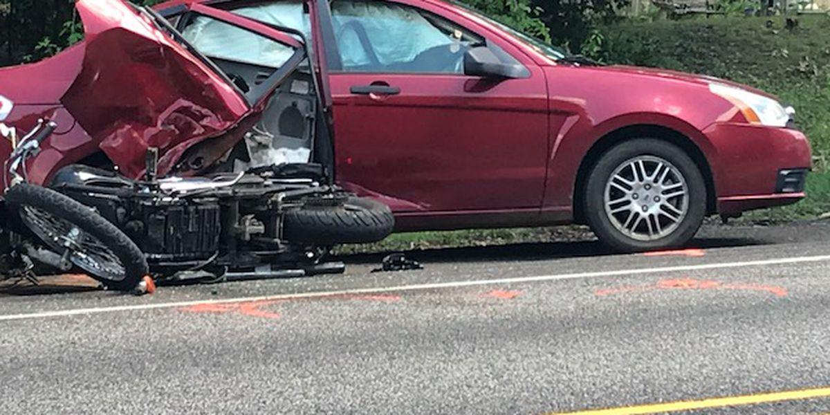 DPS troopers responding to Highway 155 N crash involving motorcycle in Winona