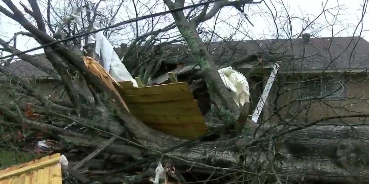 National Weather Service surveys East Texas storm damage