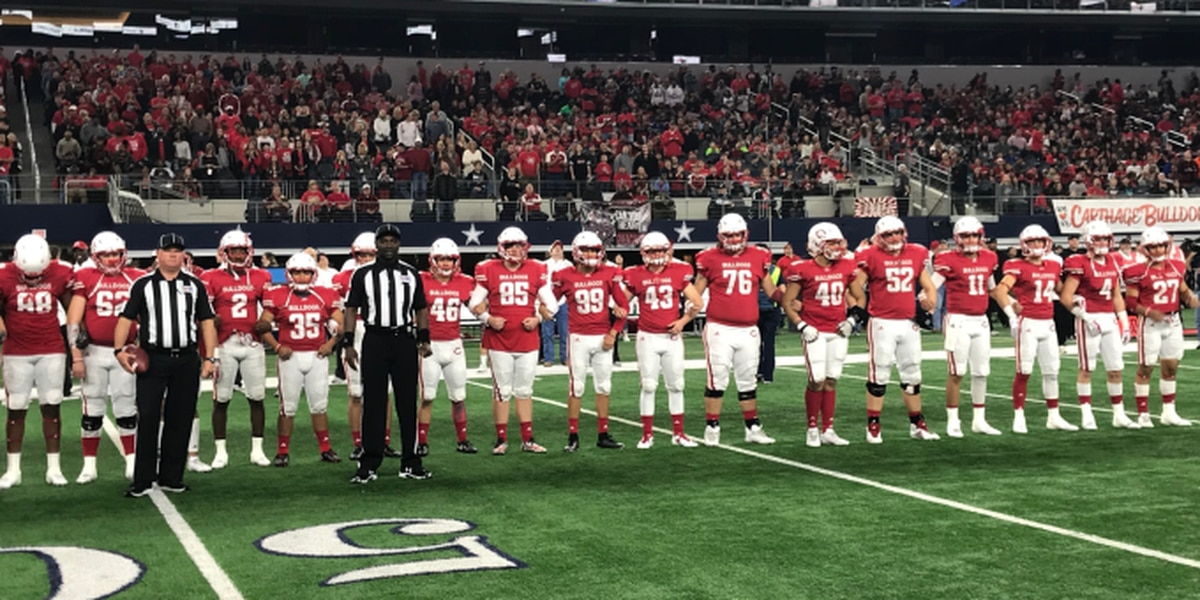 Carthage runs the table to clinch 6th state championship