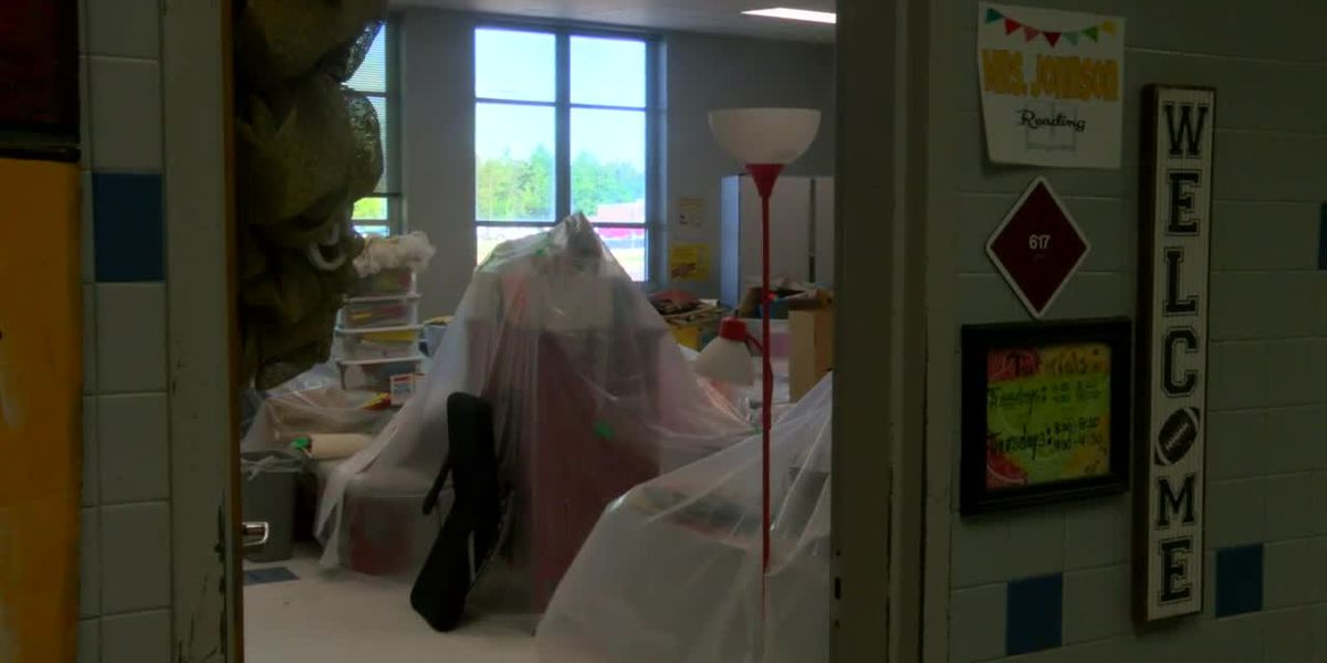 Nacogdoches ISD's McMichael Middle School flooding forces virtual learning