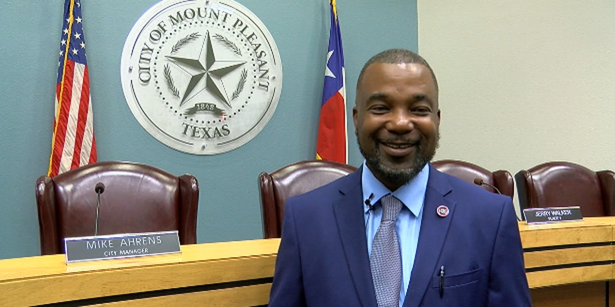 East Texas town makes history after electing first ever African-American mayor