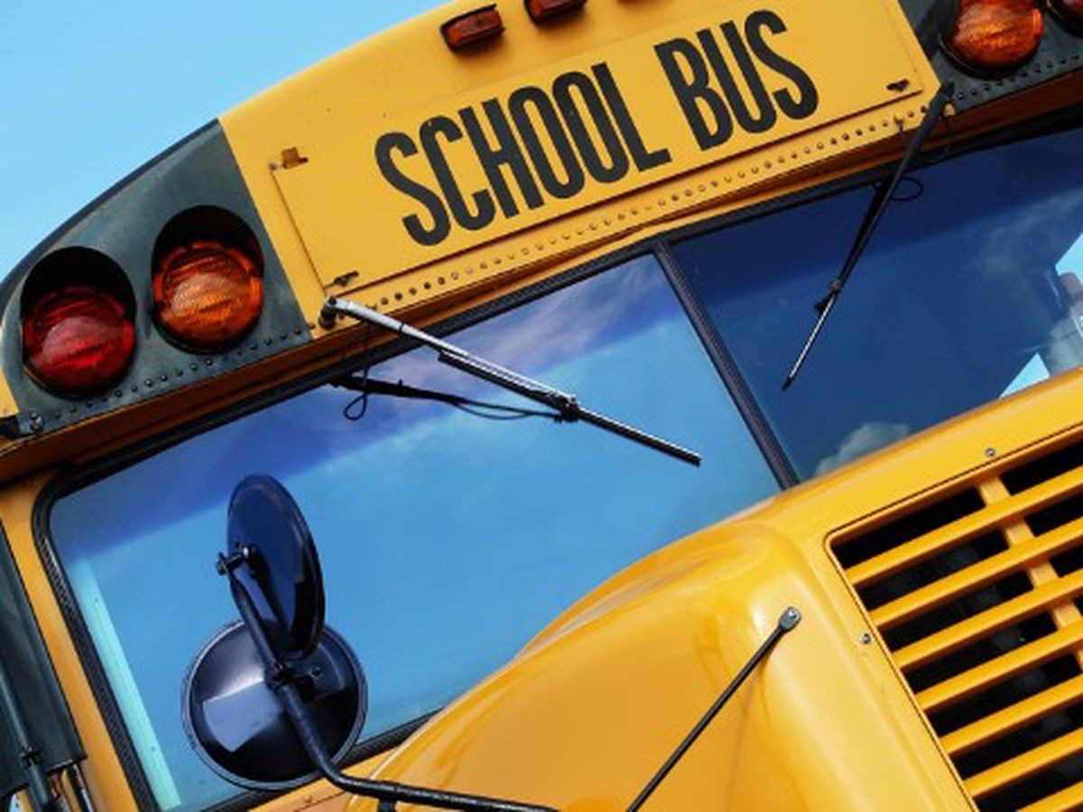 Wreck involving school bus slows traffic on Hwy 155 at FM 2661; no injuries reported