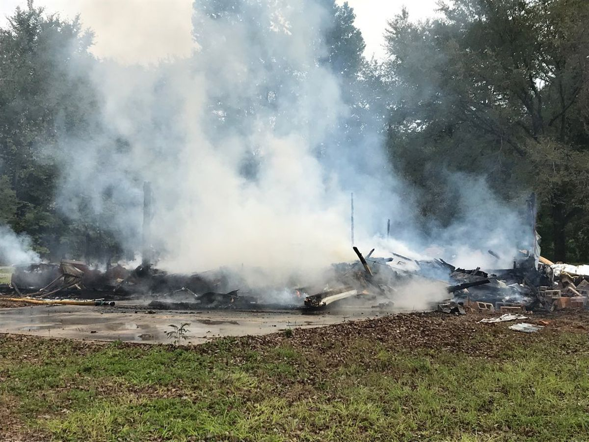 Firefighters respond to controlled burn of home in Whitehouse
