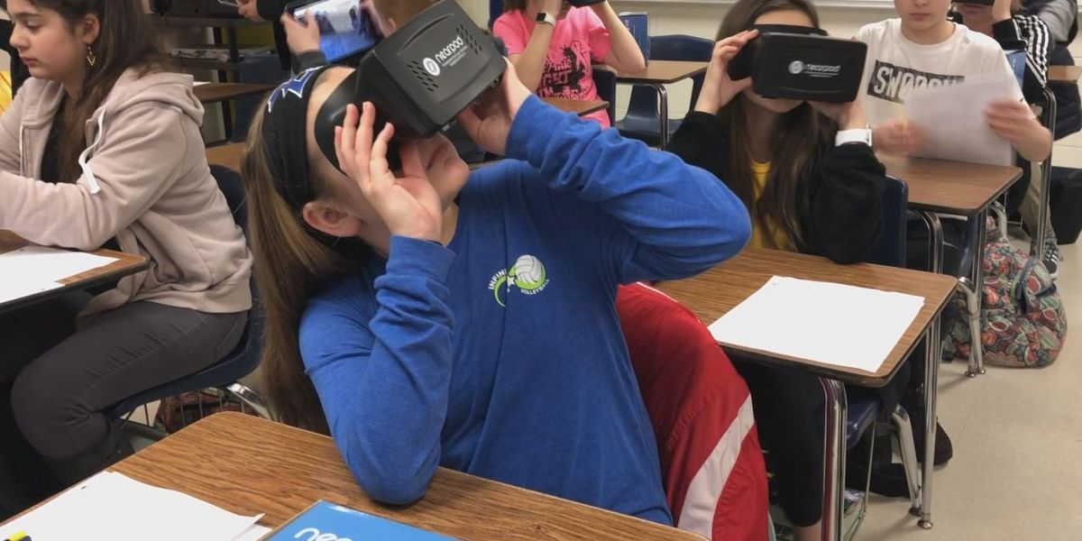Virtual reality transforms an East Texas' classroom experience