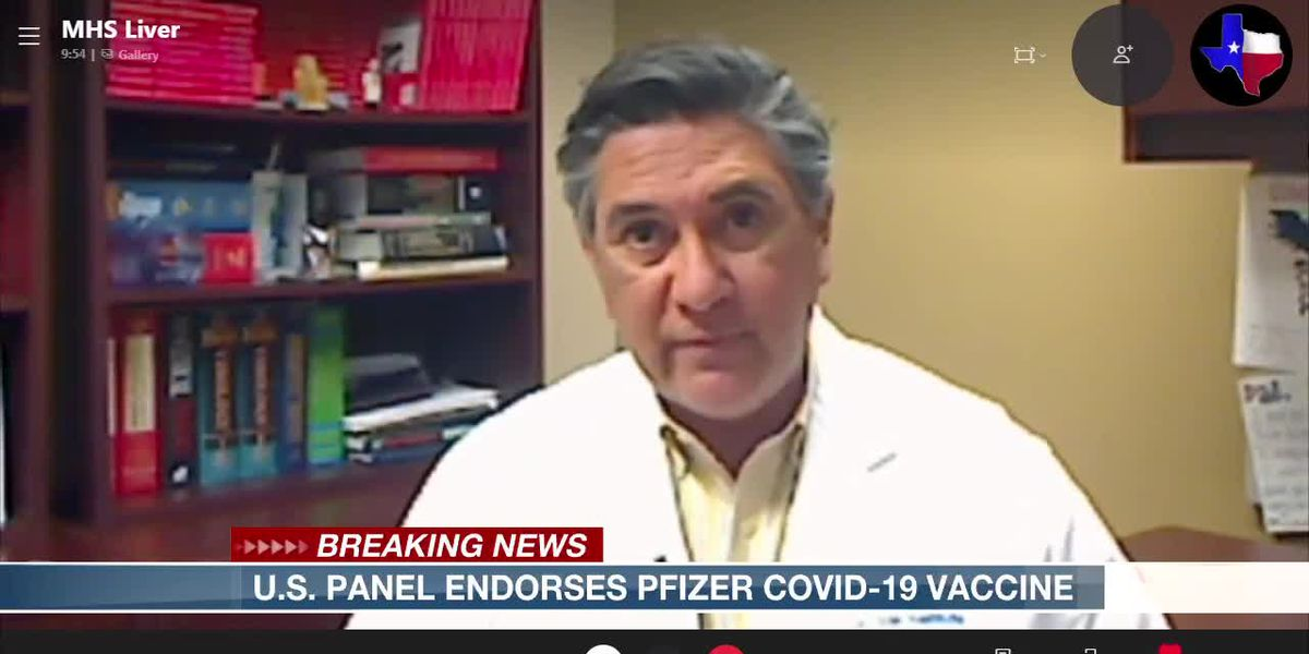 Dr. Ed Dominguez discusses vaccine approval process