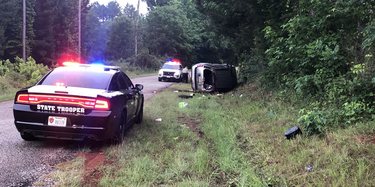 Two ejected in rollover wreck near Lake Jacksonville