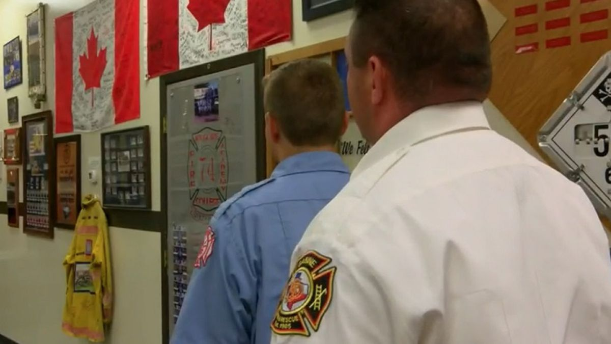 Living a Legacy: East Texas fire chief's son graduates fire academy