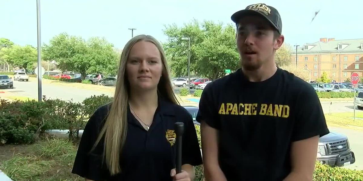 TJC Apache band led Tyler parade Thursday night, shared special performance