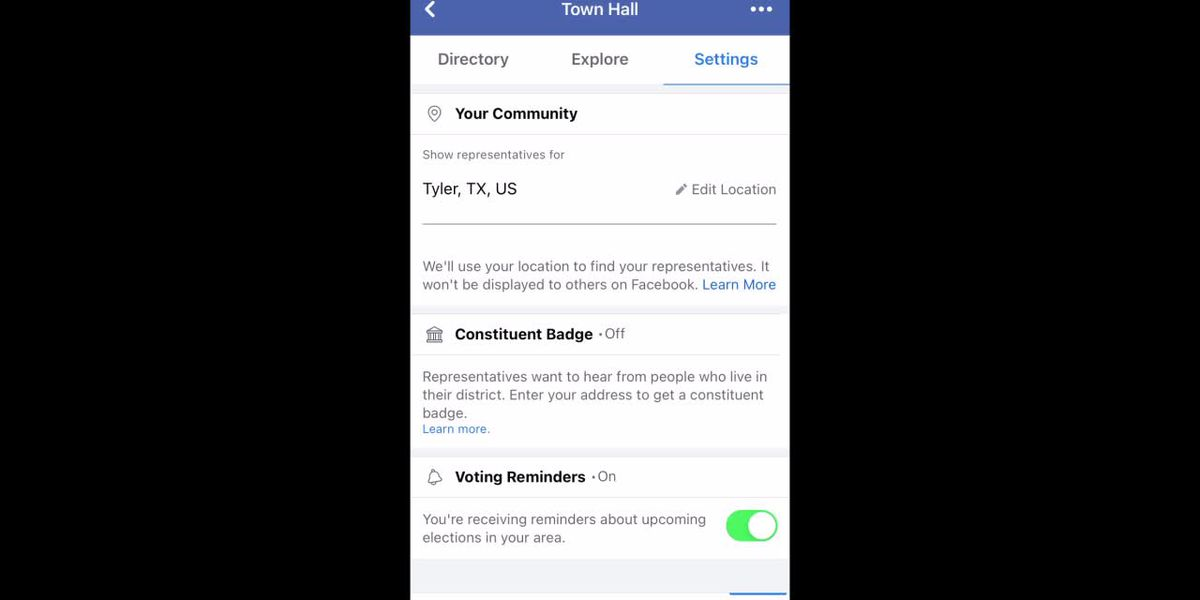 WATCH: How to turn off Facebook voter registration prompts