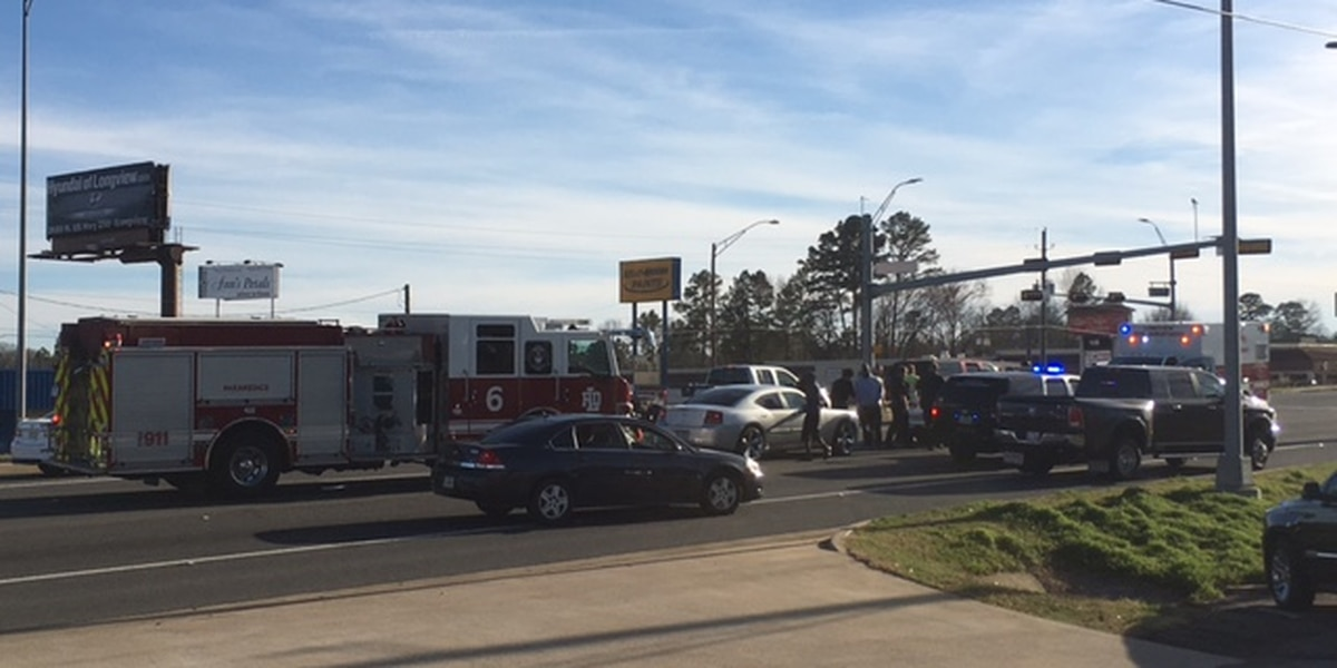 Longview officials responding to wreck, W Loop 281, Bill Owens