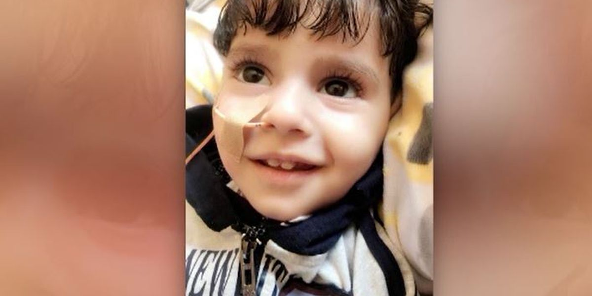 Dying boy's mother can't see him because of White House travel ban