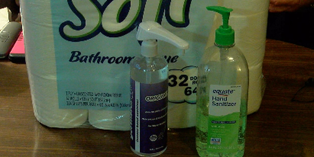 Woman buys supplies for family who can't afford them amid COVID-19 breakout